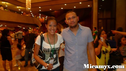 With Direk Adolf Alix Jr.