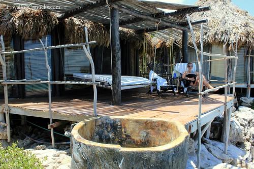 Seaside Deck at Azulik Villas, Mexico