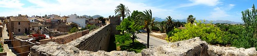 Alcudia walls panorma
