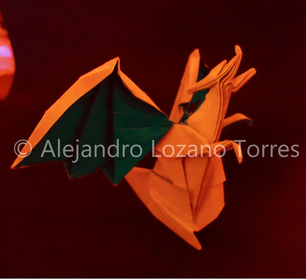 Paper Pokemon Origami Charizard Tutorial Intermediate