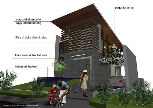 konsep design rumah minimalis modern - a photo on Flickriver