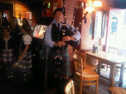 Piper in Stirling Pub