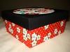 Caixa Flores (Hannah Crafting) Tags: artesanato cartonmousse patchworkembutido