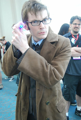 SDCC 2011, the Doctor