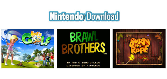 Nintendo Download - 7/28/11 releases for 3DS, Wii, DSi