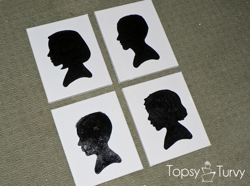 childrens-silhouette-tutorial-canvas-art-finished