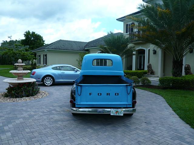 ford pickup f1 1950