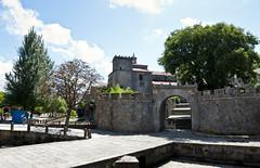 Convento de Vista Alegre (La_Chiquilla) Tags: parque azul nikon cielo nubes convento angular pontevedra piedra vilagarciadearousa samyang d80 ae14f28