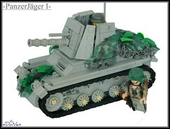 Lego PanzerJger I (=DoNe=) Tags: lego made homemade ww2 vehicle minifigs custom done legoww2tank legowwiitank legoww2germans legopanzerjger legppnazerjgeri