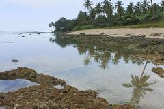 Sawarna (prana widakso) Tags: sunset sea seascape beach indonesia landscape karang sawarna banten cibarenobayah