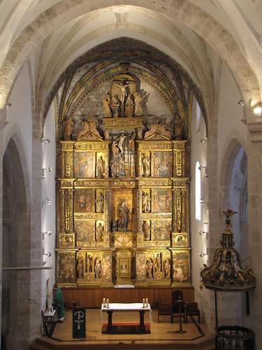Iglesia de San Juan Evangelista - Retablo mayor desde el coro