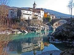 Canale d'Isonzo (alberto_d) Tags: europa europe slovenia kanal slovenija canale isonzo evropa soča sontig