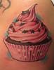 Cup Cake tattoo (TURKESA (old profile)) Tags: pink tattoo ink stars star candy sweet cupcake muffin tatuaje inked turkesa rabodiga turkesart