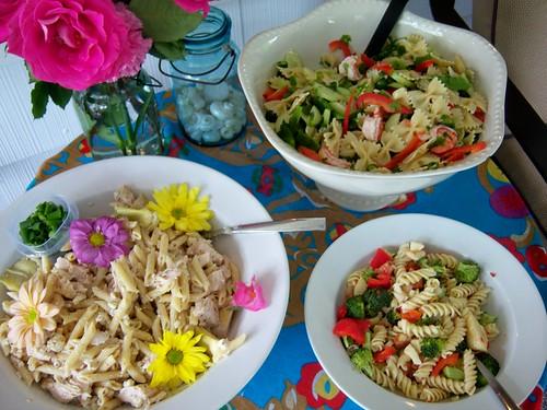 more salads!