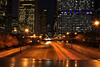 Shooting Car Trails Over Columbus Drive (Seth Oliver Photographic Art) Tags: chicago buildings iso200 illinois nikon midwest nightlights skyscrapers cities cityscapes milleniumpark nightshots lighttrails theloop chicagoatnight pinoy downtownchicago cookcounty nightscapes urbanscapes bpbridge secondcity nightscenes longexposures starbursts chicagoist cartrails d90 15secondexposure nightexposures columbusdrive cityofchicago cityofbigshoulders lightbursts moderncities manualmodeexposure setholiver1 aperturef220 18105mmnikkorlens tripodmountedshot nocturneimages