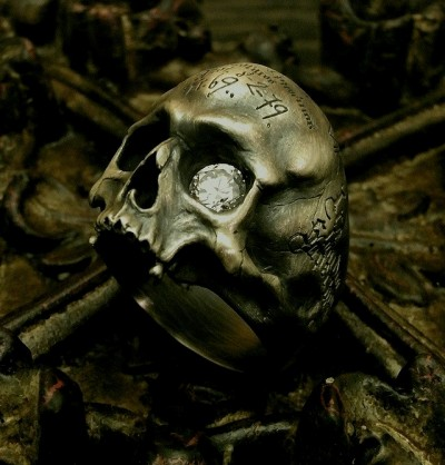 Rock the Skull Ring