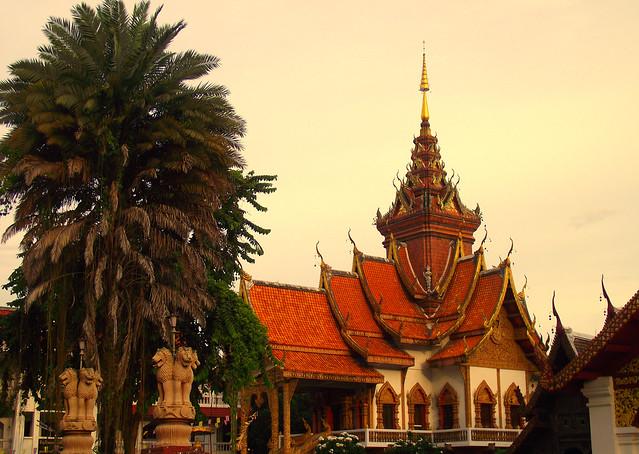 Wat Bupparam, Thapae Gate Road, Chiang Mai