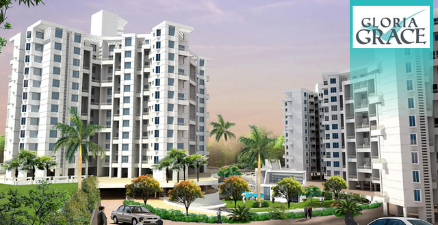 E Wing of Paranjape Schemes' Gloria Grace + Club House  + 1st Phase Gloria, at Bavdhan Pune