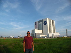 Me and the Vehicle Assembly Building