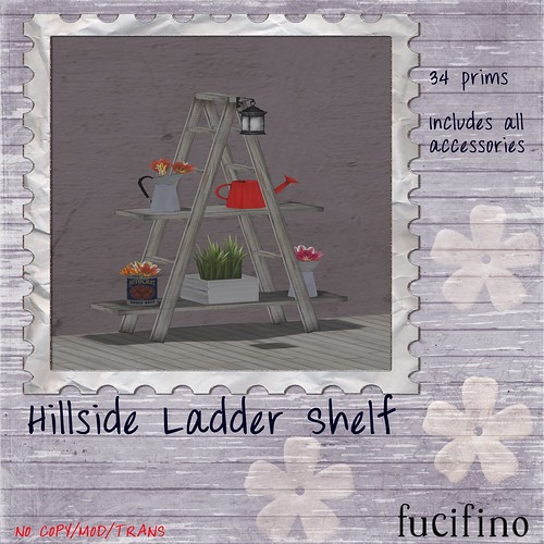 [f] fucifino.hillside ladder shelf