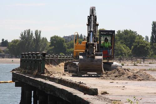 Jericho Wharf Demolition