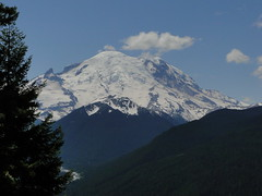 Rainier from Crystal Lakes trail.