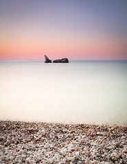 Simply Morning (c e d e r) Tags: ocean longexposure light sea sky seascape color art beach nature water swimming sunrise canon landscape photography eos dawn coast twilight rocks europe long exposure mediterranean fine pebbles minimal full greece jens filter le frame nd bathing fullframe minimalistic density karpathos fineartphotography ceder neutral exposure nd110 minimalisticphotography 5dii jensceder daytime