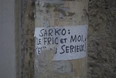 Paris (Zerbi Hancok) Tags: street paris france wall politique sarkoland