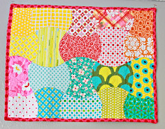 Apple Mini Quilt - 215:365 (Darci - Stitches&Scissors) Tags: penelope applecore babyquilt dollquilt miniquilt sugarpop dscollection katiejumprope 365daysofphotos niceyjane appleminiquilt applecoreblock gobabycutter