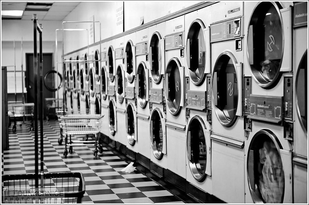 Laundry B&W.