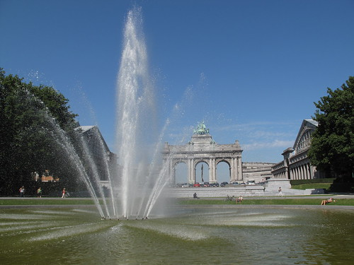 Park Cinquantenaire - Brussels, Belgium