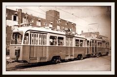 New GVB 501 and a colleague (Amsterdam RAIL) Tags: new amsterdam trolley tram nouveau streetcar tramway 1949 strassenbahn electrico 501 tranvia nieuw gvb oost oostwatergraafsmeer tramvia insulindeweg werkspoor gvba lijn11 drieasser