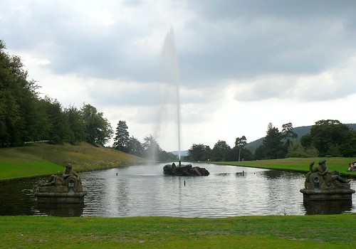 Fountain,Chatsworth House