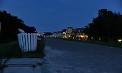 Dyke at Night (C MB 166) Tags: night germany way deutschland nacht balticsea dyke ostsee weg zingst mecklenburgvorpommern deich dars mcpomm