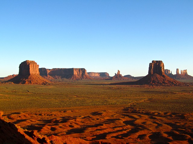 Artist's Point, Monument Valley, Utah