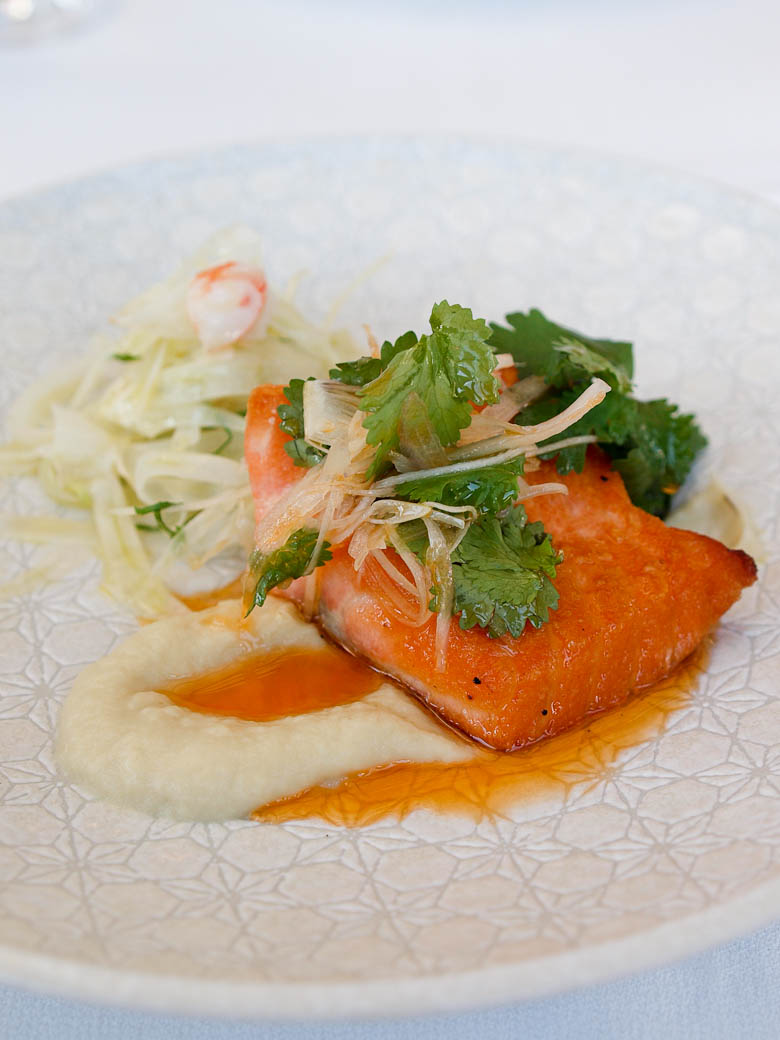 Taxi Dining Room - Salmon