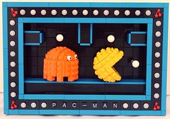 PAC-MAN (bruceywan) Tags: orange man game clyde video lego sphere pacman pokey snot photostream pac lowell  lowellsphere pakkuman brucelowellcom lowellspherebl