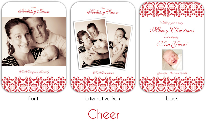 Cheer 5x7 rounded edges