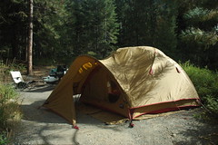 Moss Tents by Mountain Safety Research (MSR) (Peace Lvr) Tags: summer mountain tents washington moss north september safety hwy research cascades wa 20 campground msr 2011 klipchuk