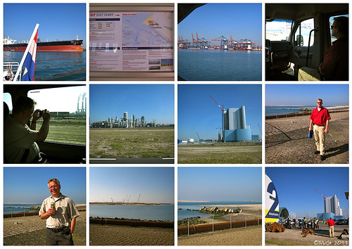 Hoek van Holland, Fast Ferry (RET), Nieuwe Waterweg en Maasvlakte 2 by Marcel van Gunst