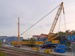 Terex Demag PC/CC6800 (skumroffe) Tags: ltm bridge pc lift sweden stockholm crane cc uppsala 6800 kran crawler pedestal 1220 liebherr sundbyberg terex lyftkran demag tvärbanan cc6800 binsell terexdemagcc6800 havator pc6800 brolyft terexdemagpc6800