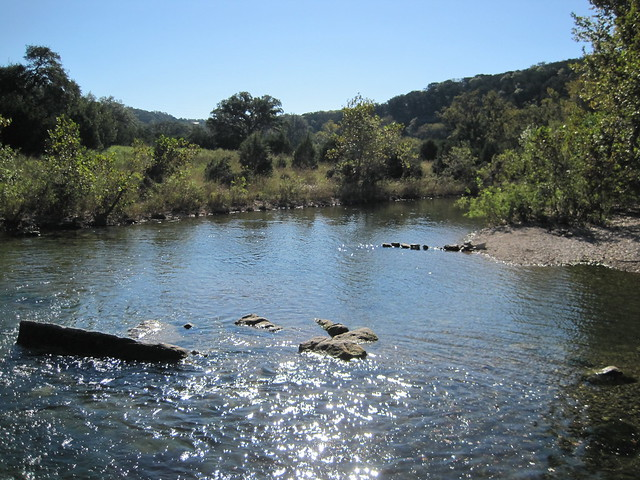 Barton Creek, October 2010