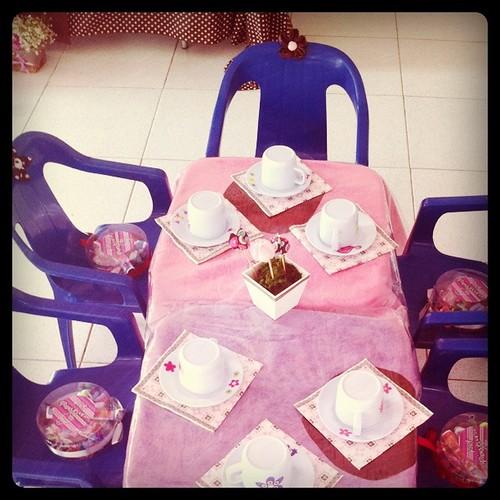 Chá de Bonecas - Isabela 7 anos