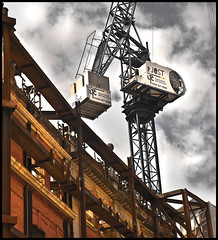 Crane on Marylebone Lane