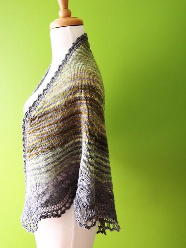 Andrea's shawl