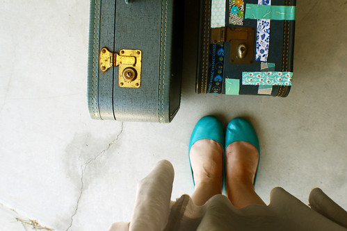 poppytalk blue: packing the bags