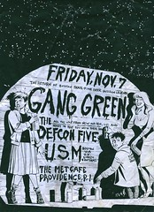 Gang Green / Defcon Five / U.S.M. (Wires In The Walls) Tags: 2003 illustration graffiti maggie providence rhodeisland comicbook punkrock usm tagging esperanza flier appropriation hopey ganggreen loverockets xaime jamiehernandez themetcafe hopita thedefconfive loshoppers13