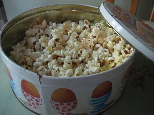 Russian roulette popcorn