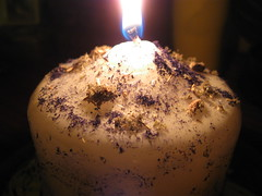 Altar Work (moonthrall) Tags: candle magick altar pagan