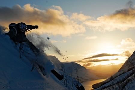 Norsko: Lyngenské alpy - lyžování mezi fjordy